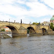 Charles Bridge and bridge towers